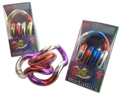 Brain Teasers - Tangle Jr. Metallic (Tri-Color)
