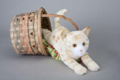 "Savory Orange Tiger Cat - 14"" Cat by Douglas Cuddle Toy"