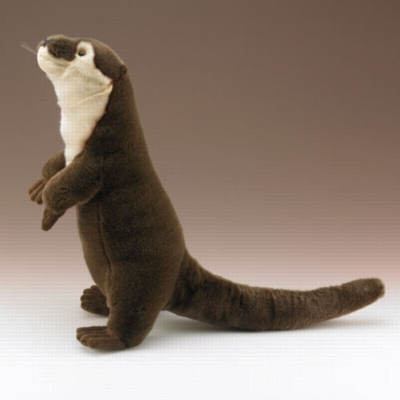 """River Otter - 20"""" Otter by Wildlife Artists"""
