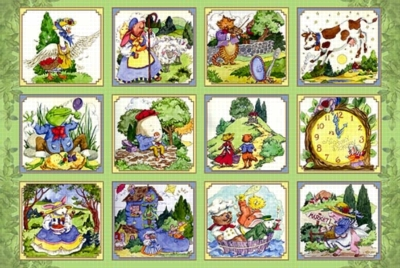 Nursery Rhymes - 24pc Floor Puzzles by Ravensburger