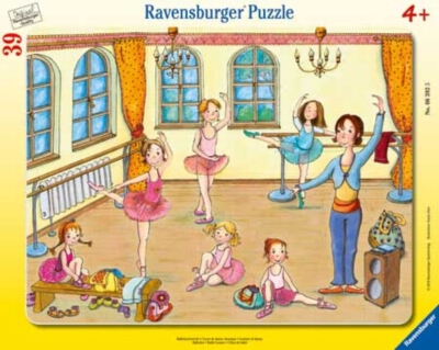 Ballet Lesson - 39pc Frame Jigsaw Puzzles by Ravensburger