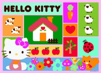 Hello Kitty: Patchwork - 60pc Jigsaw Puzzle by Ravensburger