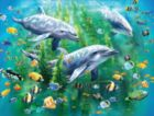 Dolphin Trio - 100pc Jigsaw Puzzle by Ravensburger