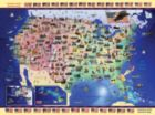 USA Map - 300pc Jigsaw Puzzle by Ravensburger