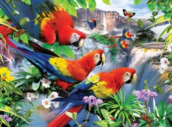 Ravensburger Large Format Jigsaw Puzzles - Tropical Birds