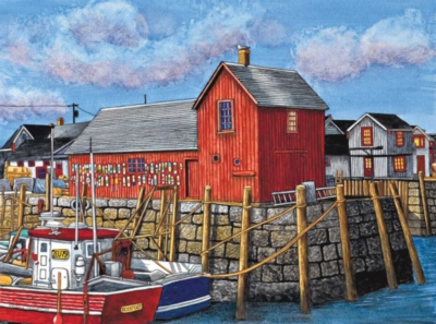 Motif #1 - Rockport, Massachusetts - 300pc Large Format Jigsaw Puzzle by Ravensburger
