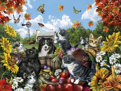 Doggie Delight - 300pc Large Format Jigsaw Puzzle by Ravensburger