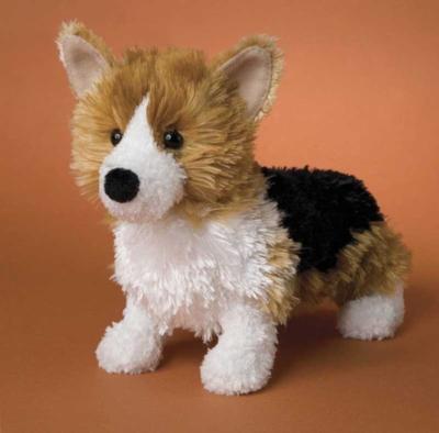 Cutie Pie Corgi - 9'' Dog by Douglas Cuddle Toys