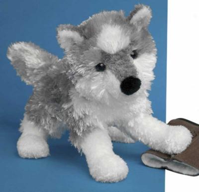 Snow Feather Husky - 9'' Dog by Douglas Cuddle Toys