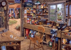 Ravensburger Large Format Jigsaw Puzzles - Dad's Shed
