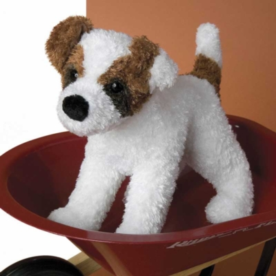 Sporty Jack Russel - 9'' Dog by Douglas Cuddle Toys