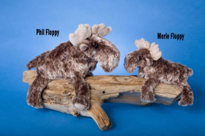 Phil Floppy - 9'' Moose By Douglas Cuddle Toys