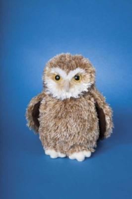 Edison Owl - 7'' Owl By Douglas Cuddle Toys