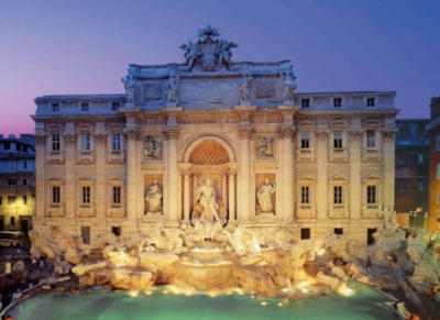 Trevi Fountain: Rome - 2000pc Jigsaw Puzzle By Clementoni