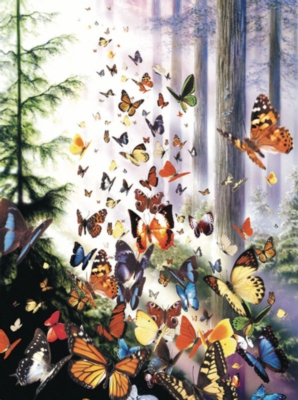 Hard Jigsaw Puzzles - Butterfly Woods