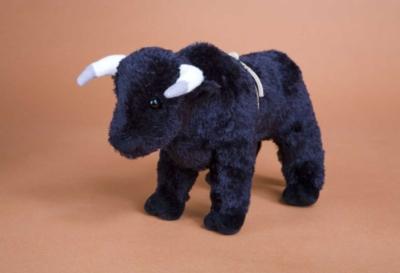 Black Thunder Rodeo - 9'' Bull By Douglas Cuddle Toys