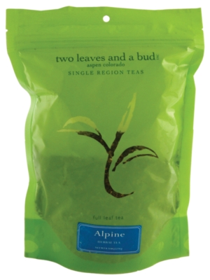 Two Leaves Tea: Alpine Herbal - 1/2 lb. Loose Tea in a Resealable Sleeve