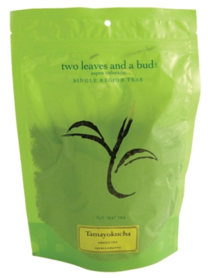Two Leaves Tea: Organic Tamayokucha - 1/2 lb. Loose Tea in a Resealable Sleeve