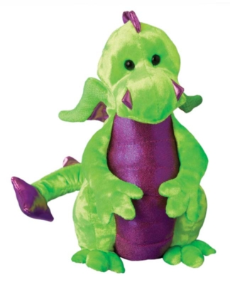 Gum Drop Lime Green Baby - 6'' Dragon By Douglas Cuddle Toys