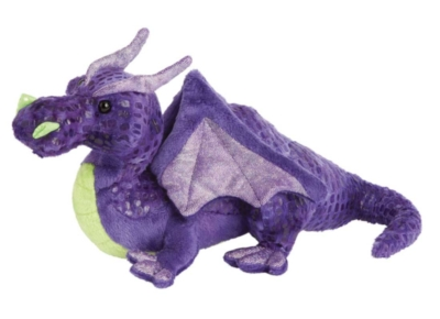 Thunder Bolt Purple - 11'' Dragon By Douglas Cuddle Toys