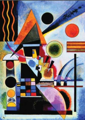 Vassily Kandinsky: Schaukeln - 1000pc Jigsaw Puzzle by Ricordi