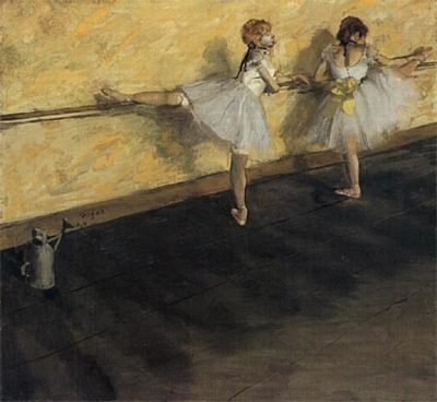 Edgar Degas: Danseuses A La Barre - 1000pc Jigsaw Puzzle by Ricordi
