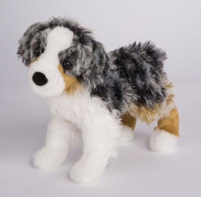 Tessie Australian Shepherd - 9'' Dog By Douglas Cuddle Toys