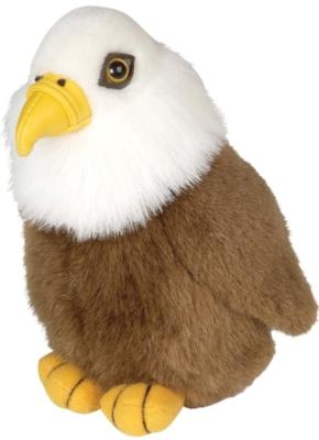 "Audubon Birds: Bald Eagle (USA) - 6"" Bird by Wild Republic"