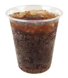 Dart - Clear PET Plastic Cold Cup, 12oz, 12C, 1000/cs