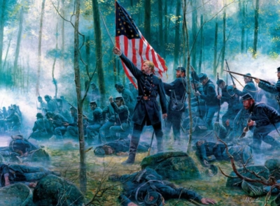 Jigsaw Puzzles - Hero of Little Round Top