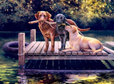 Jigsaw Puzzles - Dog Days