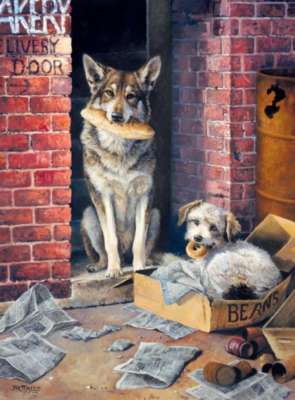 Jigsaw Puzzles - Alley Dogs