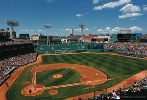 MLB Stadiums: Boston Red Sox - 500pc Jigsaw Puzzle by Great American Puzzle Factory
