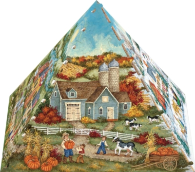 3D Puzzles - Four Seasons Pyramid