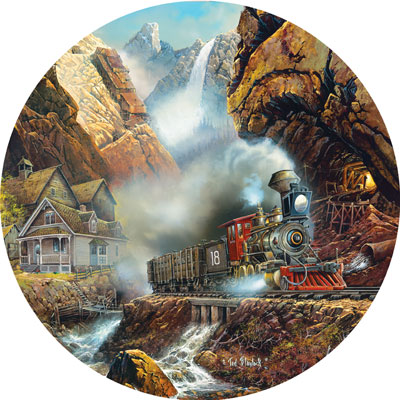 Rails to Pandora - 700pc Shaped Jigsaw Puzzle by Masterpieces