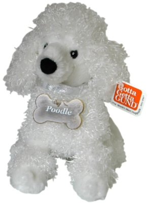 Poodle - 9'' Dog by Gund