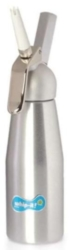 Whip-it! Cream Whipper (Screw Valve) - .5L Metal (Silver)
