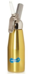 Whip-it! Cream Whipper (Screw Valve) - .5L Metal (Gold)