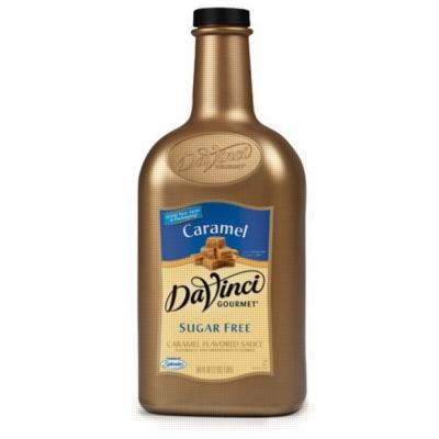 Davinci Gourmet Sugar Free Caramel Sauce - 64oz Plastic Bottle