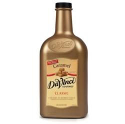 Davinci Gourmet Sauce: Caramel - 64oz Plastic Bottle Case