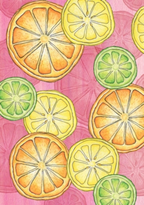 Citrus Toss - Standard Flag by Toland
