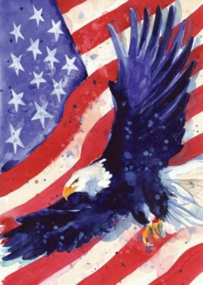 Liberty Eagle - Standard Flag by Toland