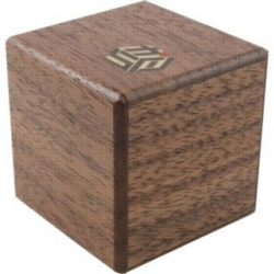 Japanese Puzzle Box - Karakuri Small Box #1: Walnut