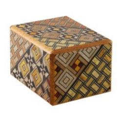Wooden Puzzle Box - Japanese - 2 Sun, 5 Step: Koyosegi