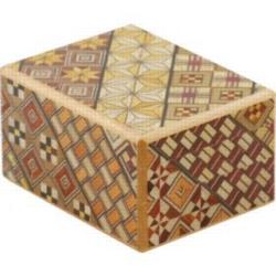 Wooden Puzzle Box - Japanese - 2.5 Sun, 10 Step: Koyosegi