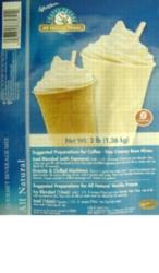 Caffe D'Amore Frappe Freeze (Natural) - 3 lb. Bulk Bag Assorted Case