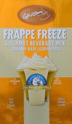 Caffe D'Amore Frappe Freeze (Coffee Free) - 3 lb. Bulk Bag Assorted Case