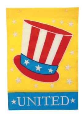 United Hat - Standard Applique Flag by Toland
