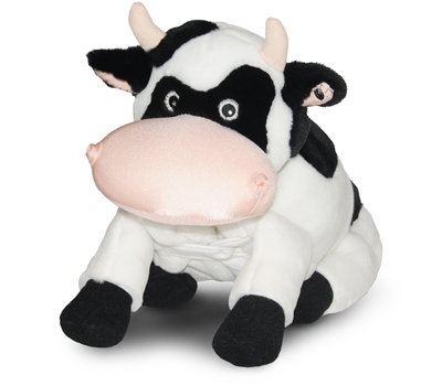 """Cookie (Plush / Pillow / Blanket) - 18"""" Cow by Zoobie Pets"""