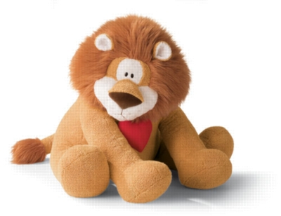 King of Hearts Extra Large - 22.5'' Lion by Gund